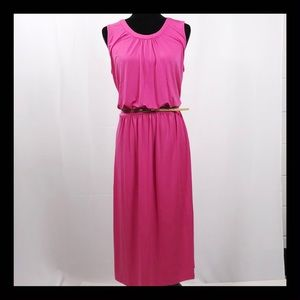 NEIMAN MARCUS Pink Dress NWT SZ L